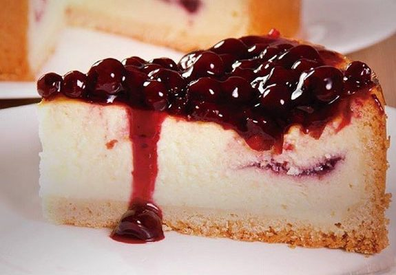 CHEESECAKE DE BLUEBERRY